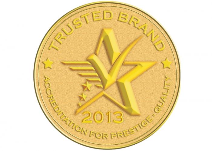 Daystar đạt chứng nhận Thương hiệu uy tín (Trusted Brand) 2013