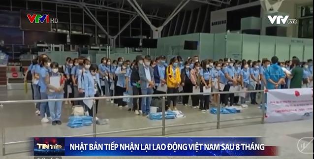 Nhật Bản tiếp nhận lại lao động Việt Nam sau 8 tháng